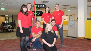 Our Belfast-based 'Hive Academy' promotes STEM subjects to school children