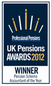 Pensions Scheme Accountant of the Year 2012