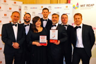 Dylan's Restaurant crowned as PwC Business of the Year at the 2016 North Wales Business Awards